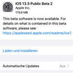 Apple veröffentlicht iOS 13.5 Beta 2 und 3