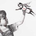 Neues Kunstwerk von Banksy feiert Superhelden im Gesundheitswesen