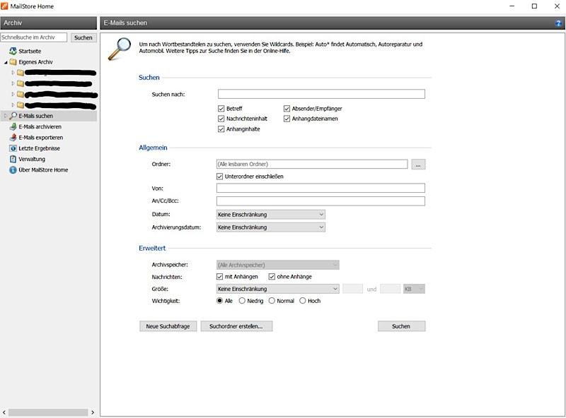 Ordnung ins E-Mail-Postfach - Mails archivieren mit MailStore