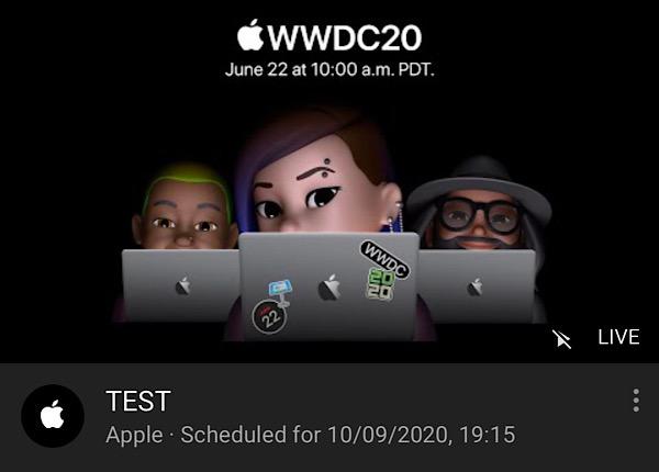 Apple Herbst-Event
