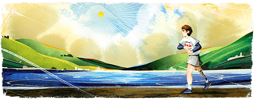 Terry Fox Google Doodle