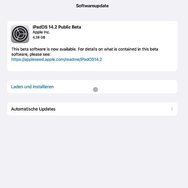 iOS 14.2 Beta iPadOS 14.2 Beta