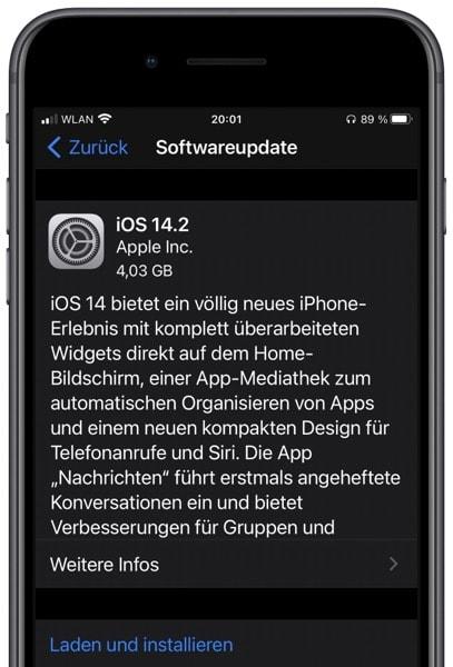 iOS 14.2 Release
