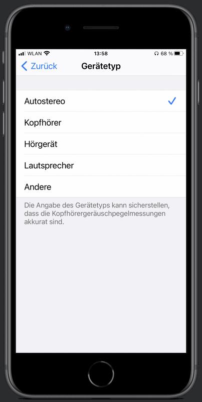 Apple Bluetooth Gerätetyp