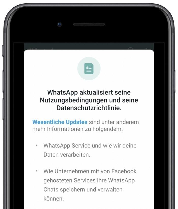 WhatsApp: Verwirrung um neue Nutzungsbedingungen