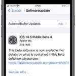 iOS 14.5 Beta 4