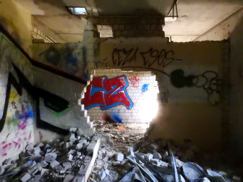 SAS Kellinghusen - Durchbruch Mauer