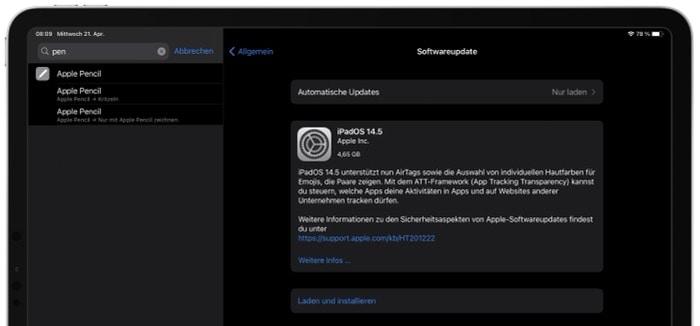 Apple veröffentlicht iOS 14.5 und iPadOS 14.5 Beta 9 - Release-Kandidat