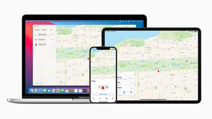 Apple Wo ist?