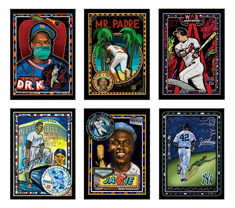 Baseball-Karten