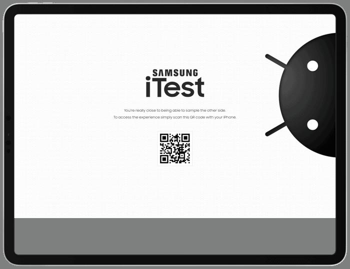 iTest: Samsung simuliert Android per Web-App auf dem iPhone