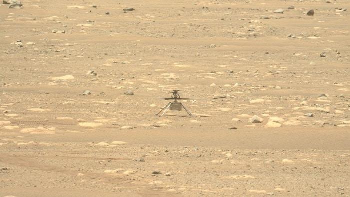 Mars Helikopter Ingenuity