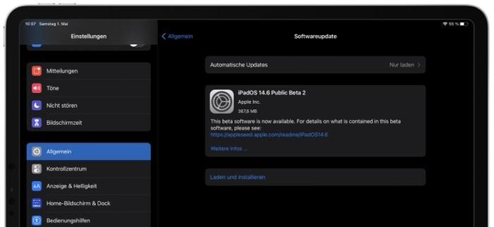 Apple veröffentlicht iOS 14.6 und iPadOS 14.6 Beta 2