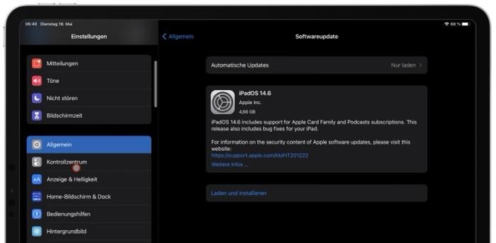 Apple veröffentlicht iOS 14.6 und iPadOS 14.6 Beta 4 - Release-Kandidat