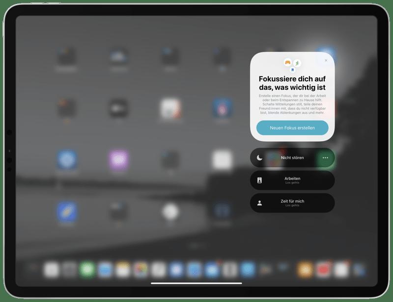 iOS 15 Beta 1 - Fokus