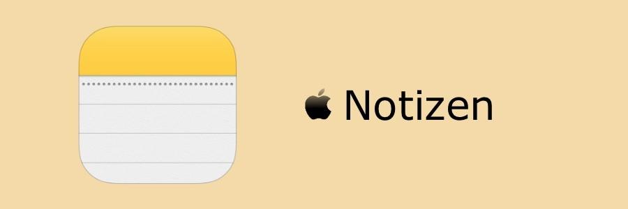 Apple Notizen