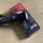 outline Hochlumen LED Taschenlampe FL-304 - Review