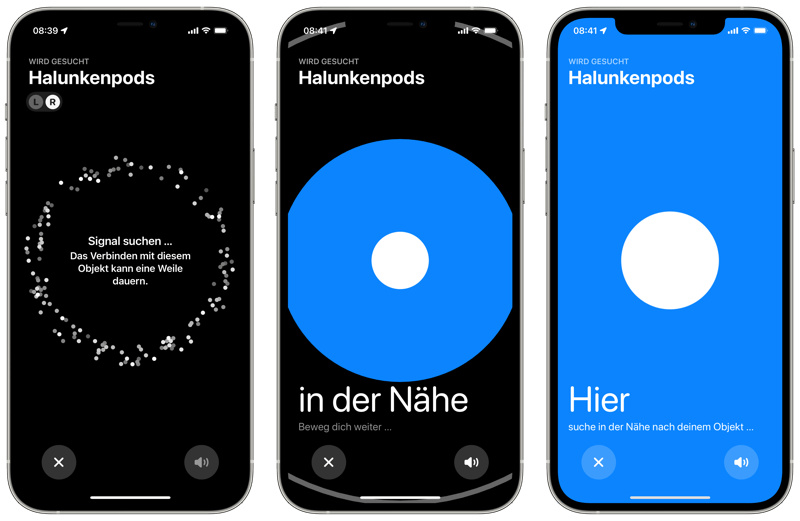 Airpods Pro - Wo ist?