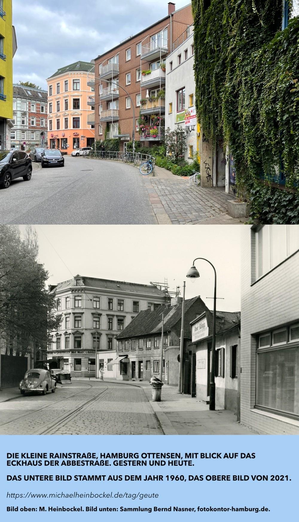 Kleine Rainstraße, Hamburg. #geute